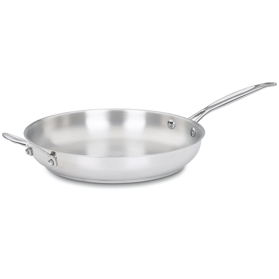 Cuisinart Chef's Classic 12.25-in Stainless Steel Skillet