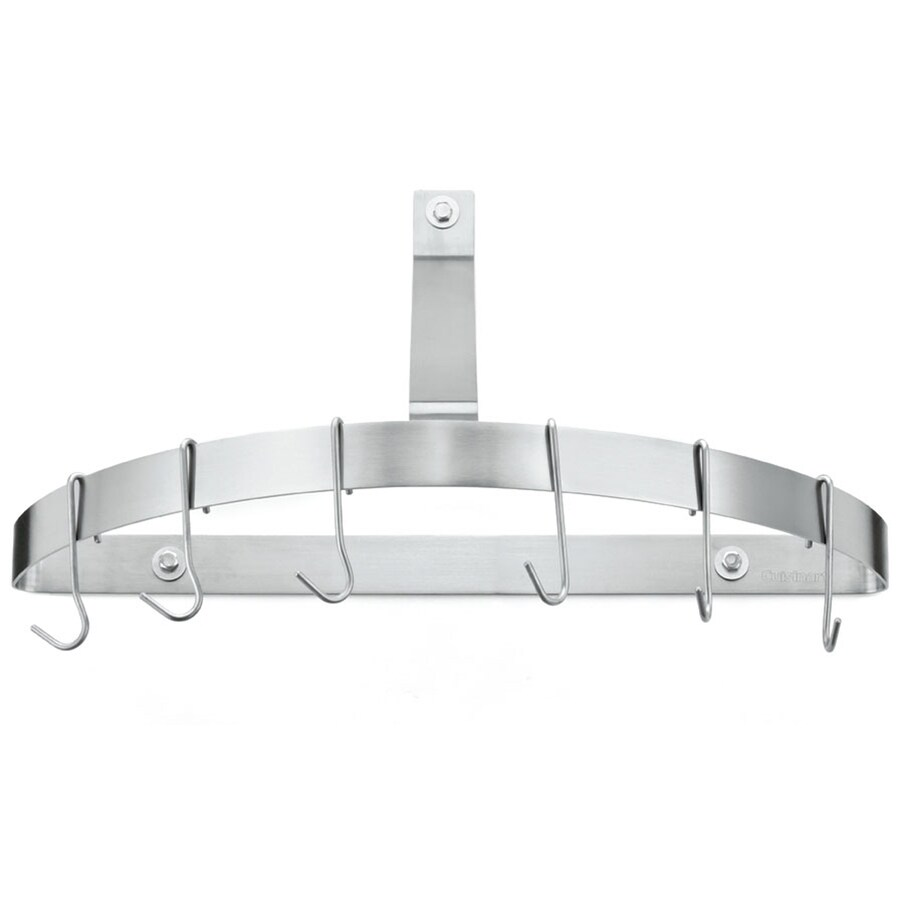 Cuisinart 25-in x 15.5-in Brushed Stainless Half Circle Pot Rack