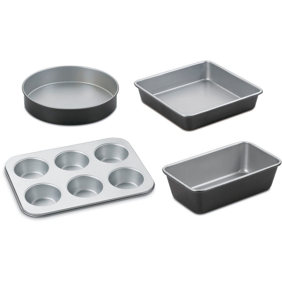 Cuisinart 4-Piece Chef's Classic 9.5-in Stainless Steel Baking Pans