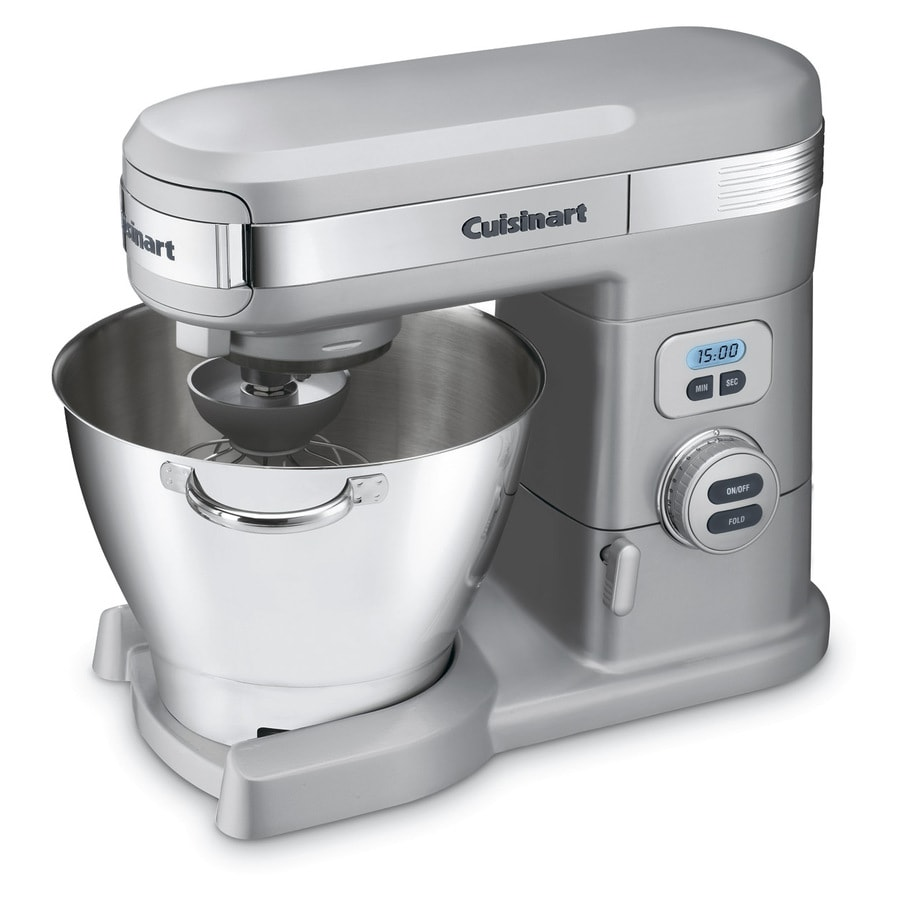 Cuisinart 5.5-Quart 12-Speed Brushed Chrome Countertop Stand Mixer
