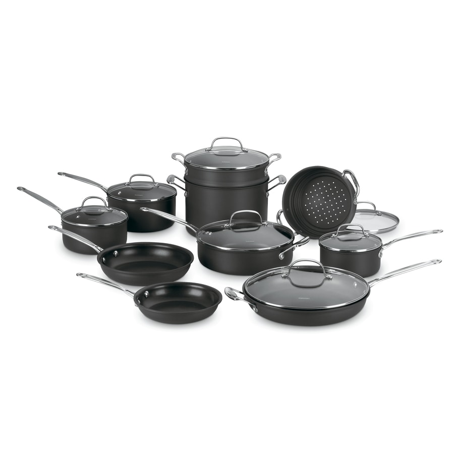Cuisinart 17-Piece Chef's Classic Aluminum Cookware Set with Lids