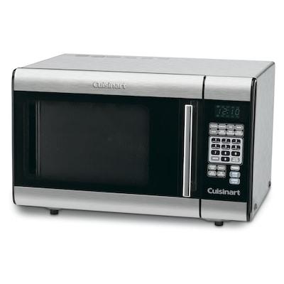 1 Cu Ft 000 Watt Countertop Microwave Stainless Steel