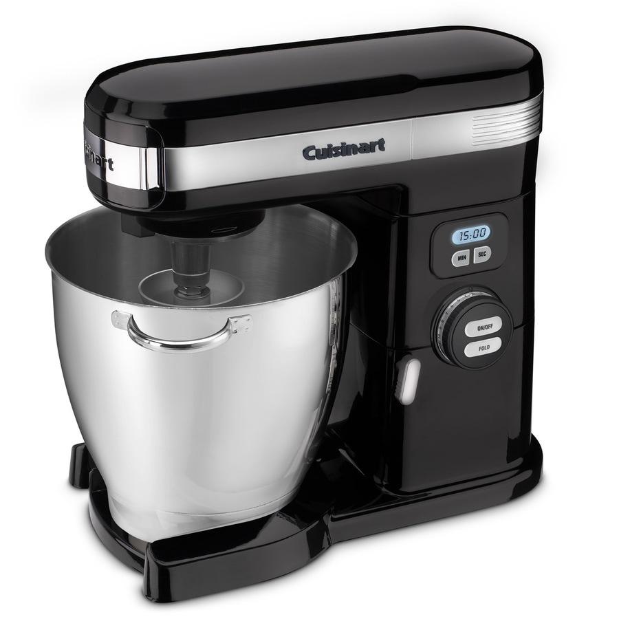 Cuisinart 7-Quart 13-Speed Black Countertop Stand Mixer