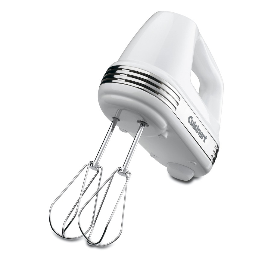 Cuisinart 5-Speed White Hand Mixer