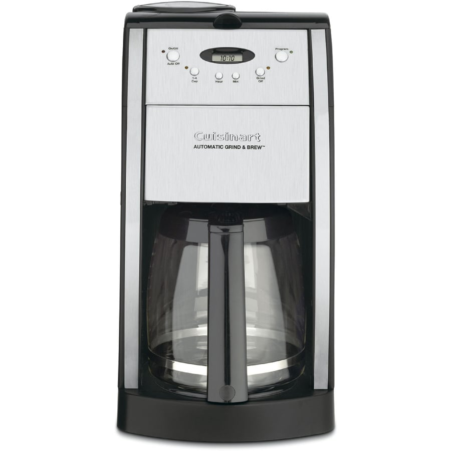 Cuisinart 12-Cup Black Programmable Coffee Maker