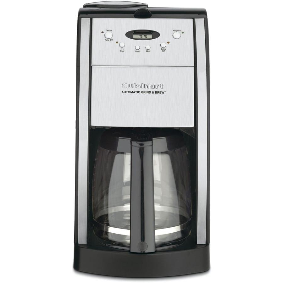 Cuisinart 12-Cup Black Programmable Coffee Maker