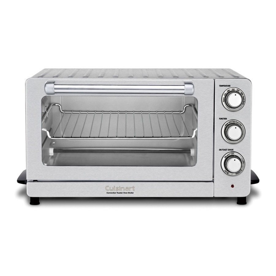 Cuisinart 6-Slice White Convection Toaster Oven with Auto Shut-Off