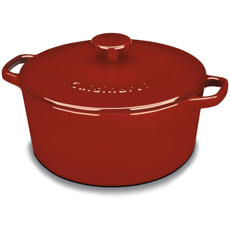 Cuisinart Chef's Classic 5-Quart Cast Iron Dutch Oven with Lid