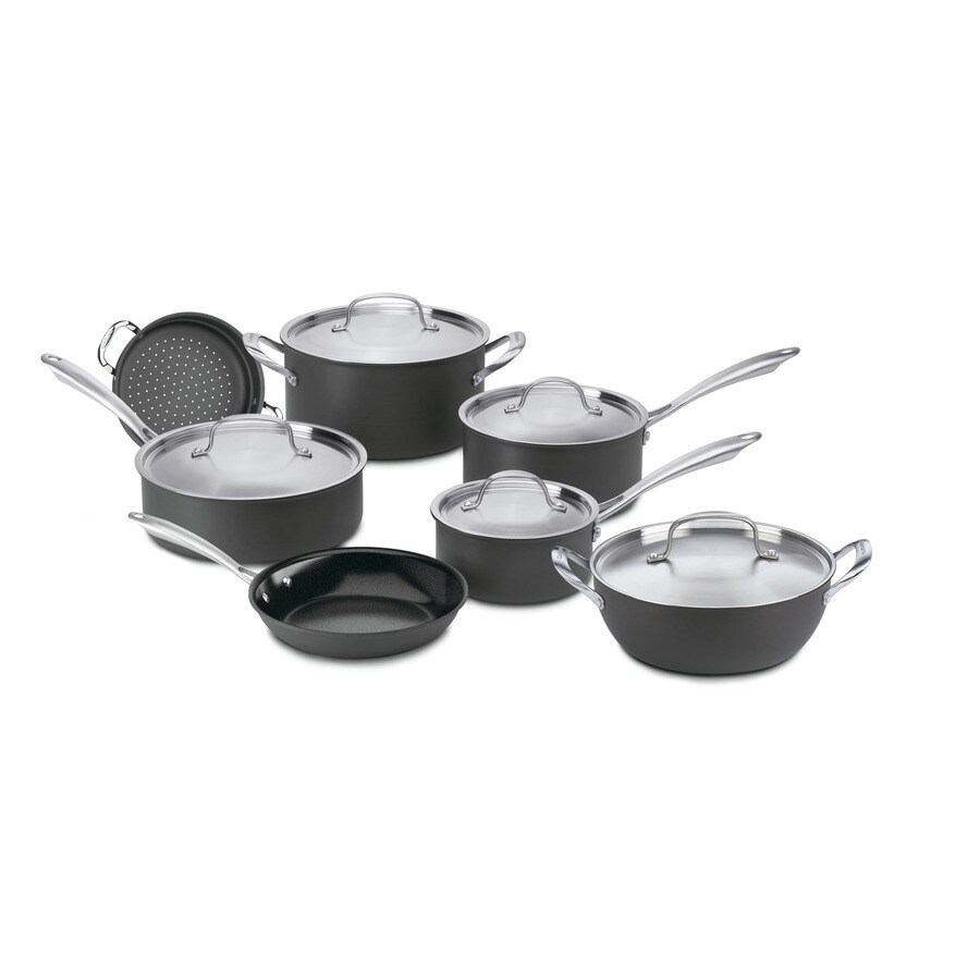 Shop Cuisinart 12 Piece Greengourmet Aluminum Cookware Set