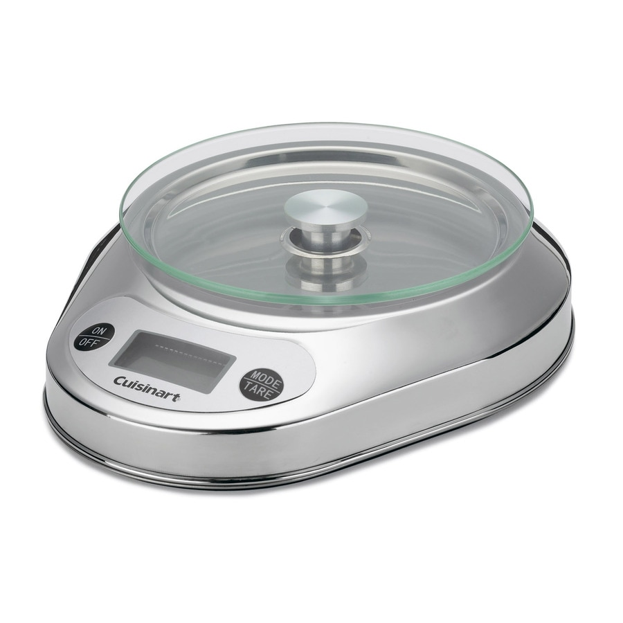 Cuisinart Stainless Steel Kitchen Scale