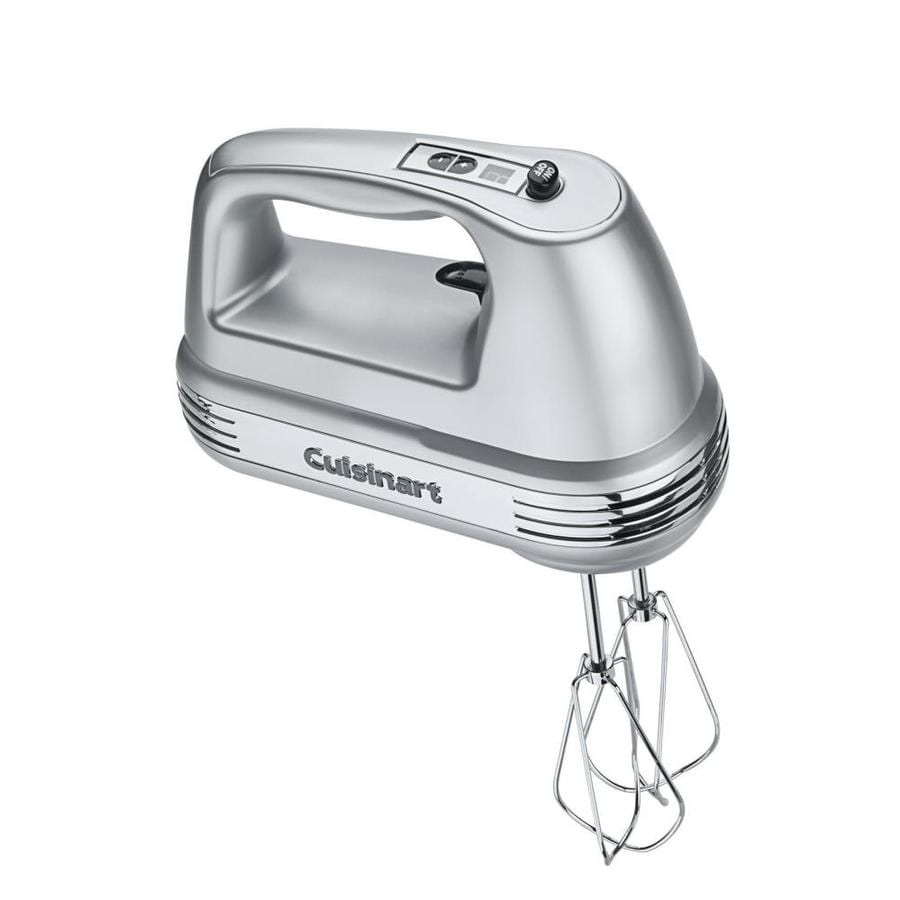 Cuisinart 9-Speed Brushed Chrome Hand Mixer
