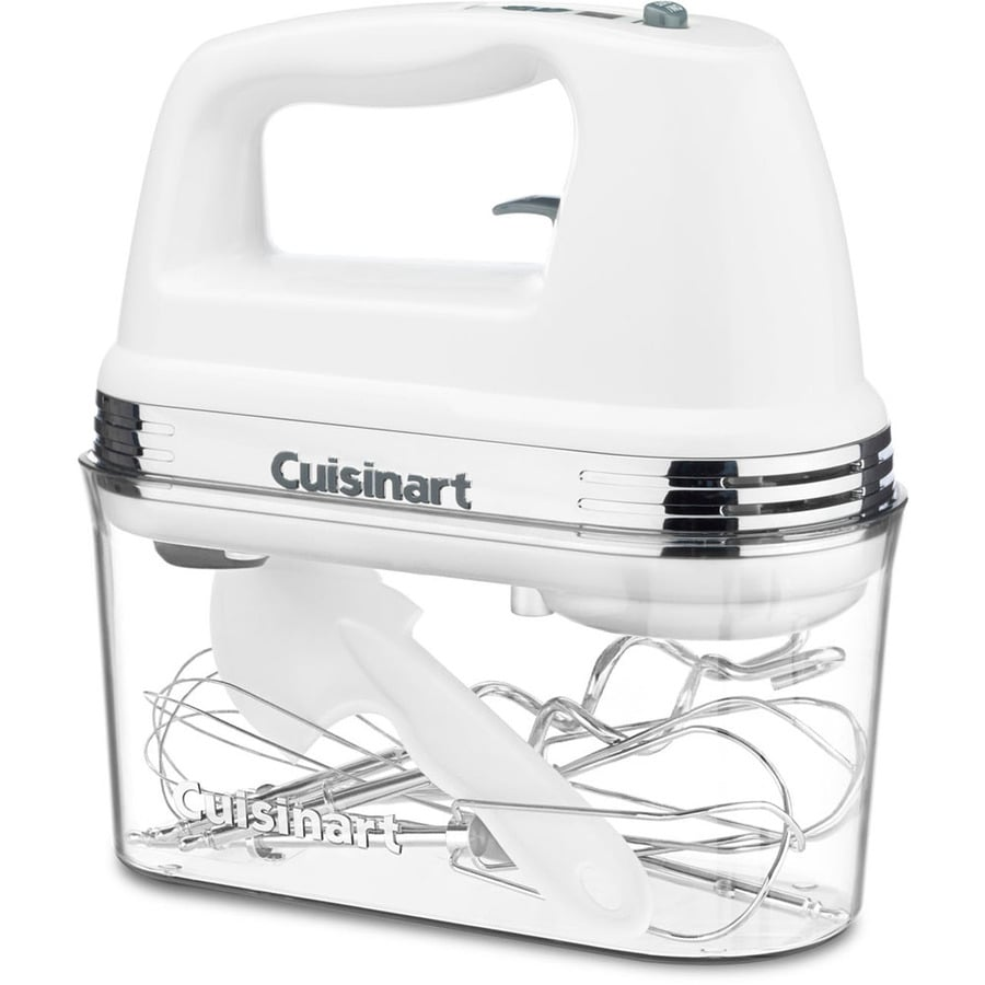 Cuisinart 9-Speed White Hand Mixer