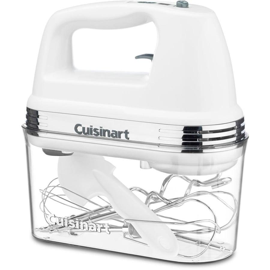 Cuisinart 9-Speed White Hand Mixer