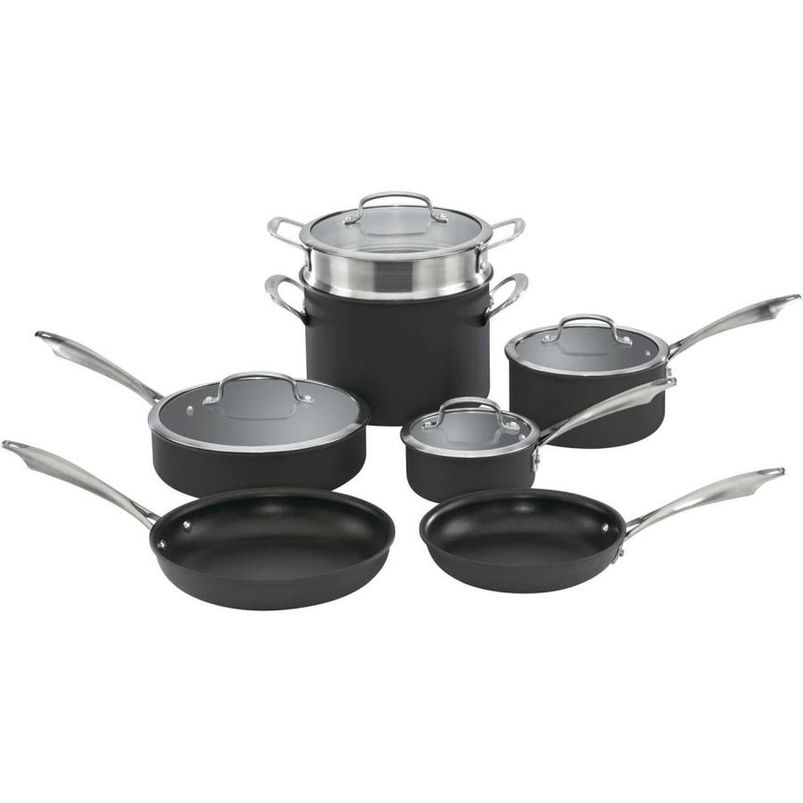 Cuisinart 13-in Aluminum Cookware Set with Lid