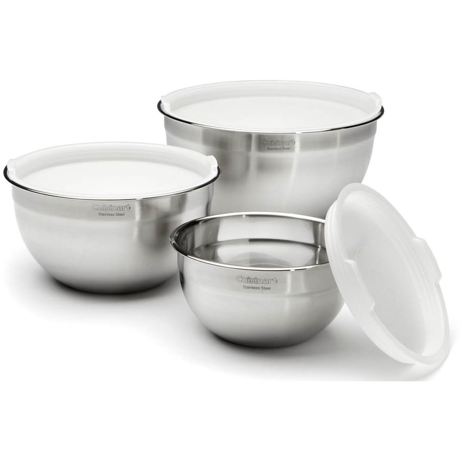 Cuisinart Stainless Steel Mixing Bowls