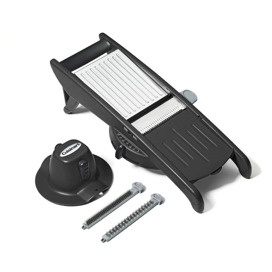 Cuisinart 1-Speed Black Food Slicer