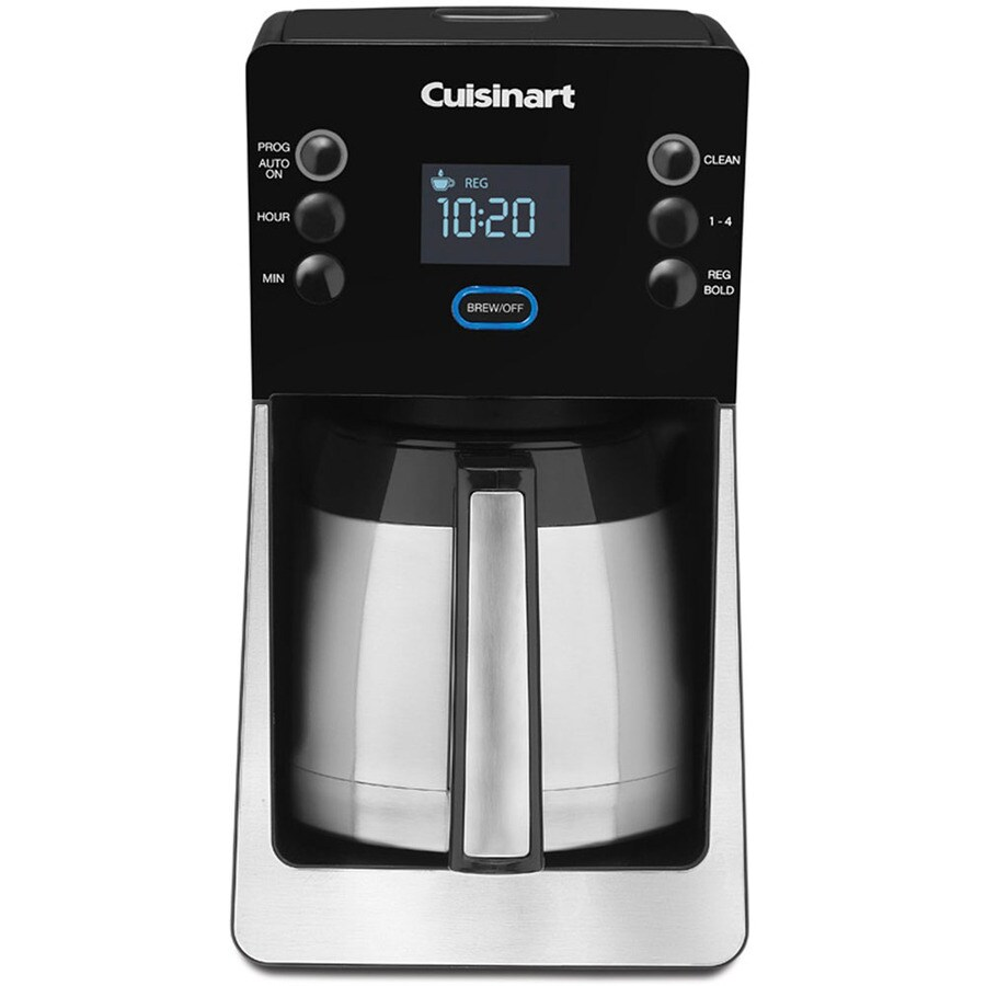 Shop Cuisinart 12 Cup Black Programmable Coffee Maker At
