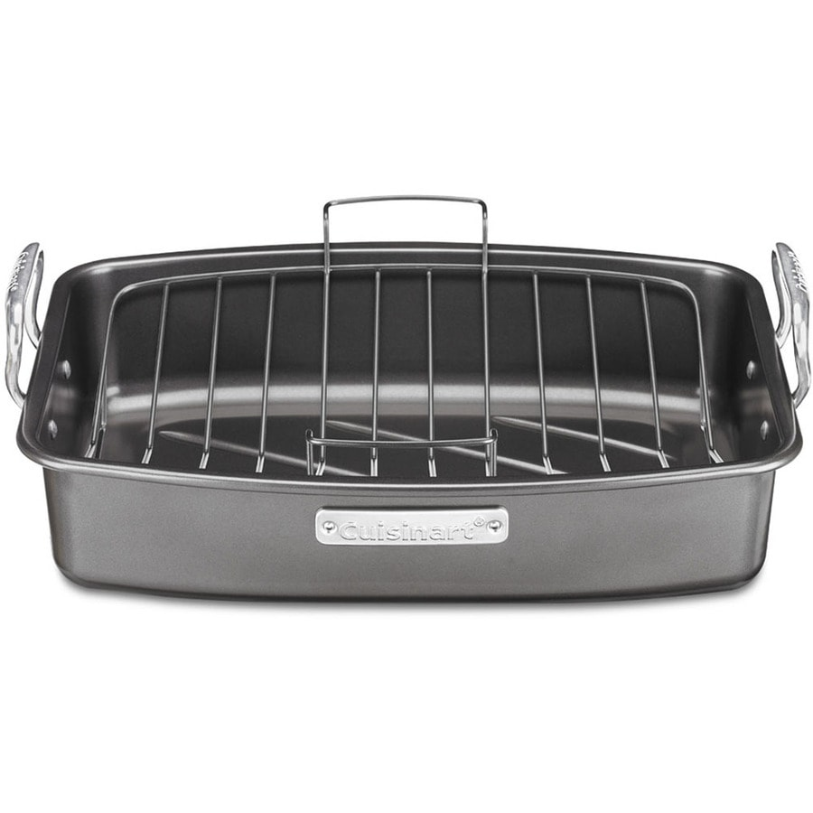 cuisinart 2 piece 13 in stainless steel baking pans at. Black Bedroom Furniture Sets. Home Design Ideas