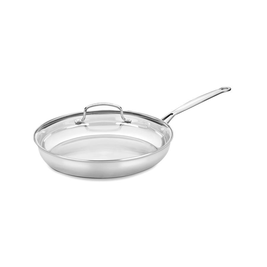 Cuisinart 2-Piece Chef's Classic 12-in Stainless Steel Skillet Lid(s) Included