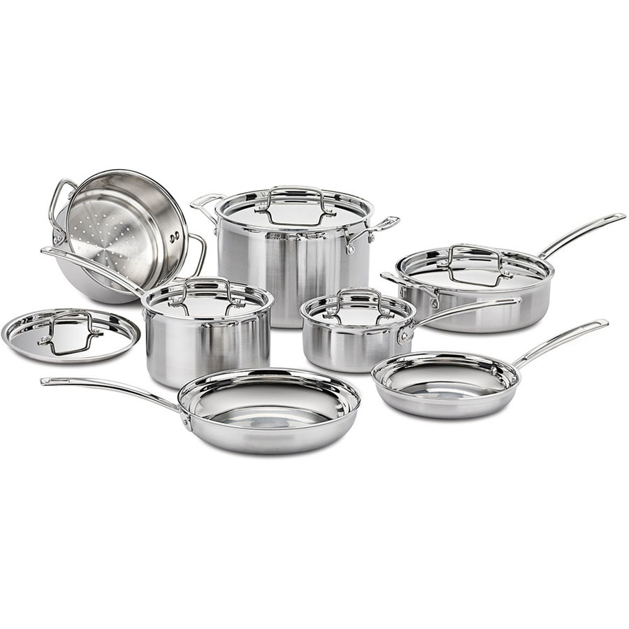 Cuisinart 12-Piece Aluminum Cookware Set with Lids