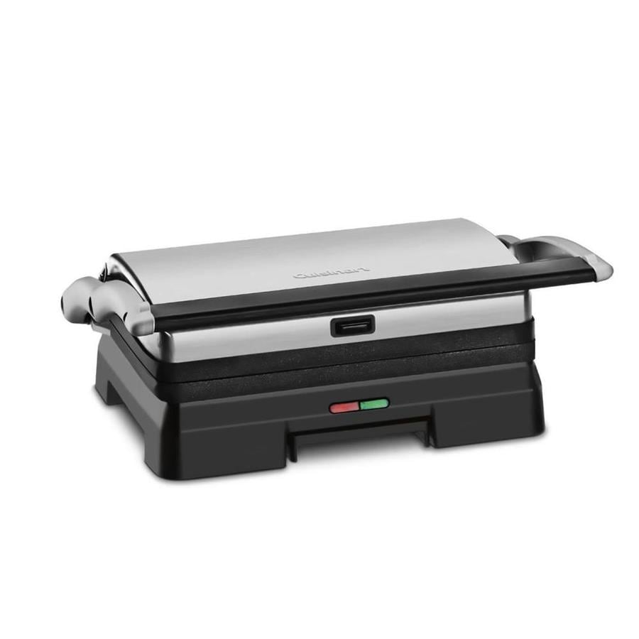 Cuisinart 6.5-in L x 10.25-in W Non-Stick Contact Grill