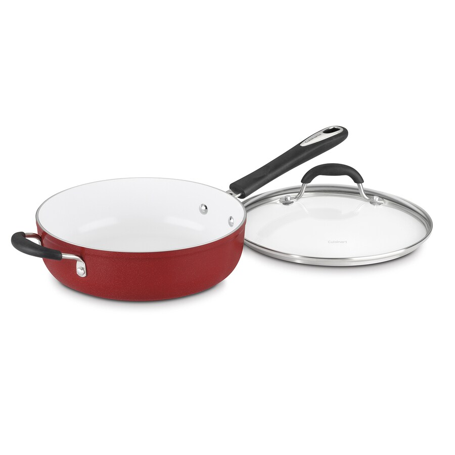 Cuisinart 2-Piece Elements 22.85-in Aluminum Cooking Pan with Lid
