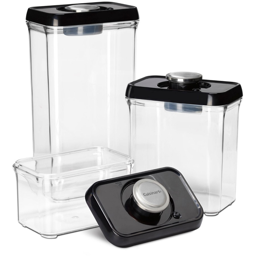Shop Cuisinart 3 Piece Plastic Food Storage Container at Lowescom