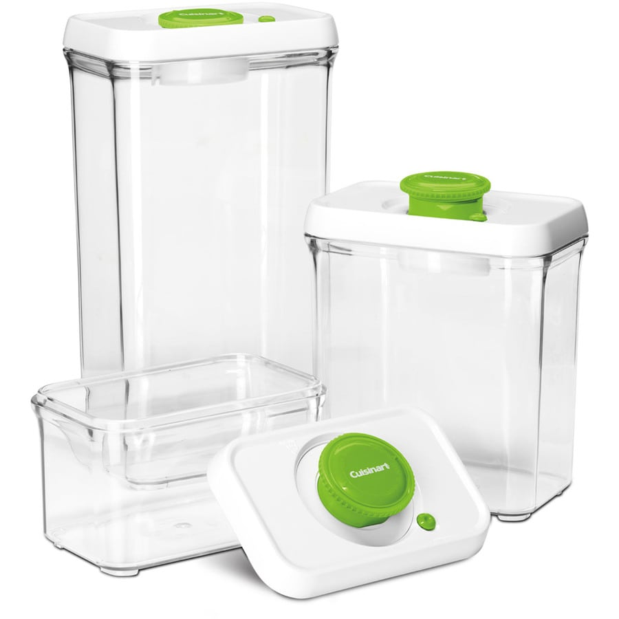 Cuisinart 3-Piece Plastic Food Storage Container