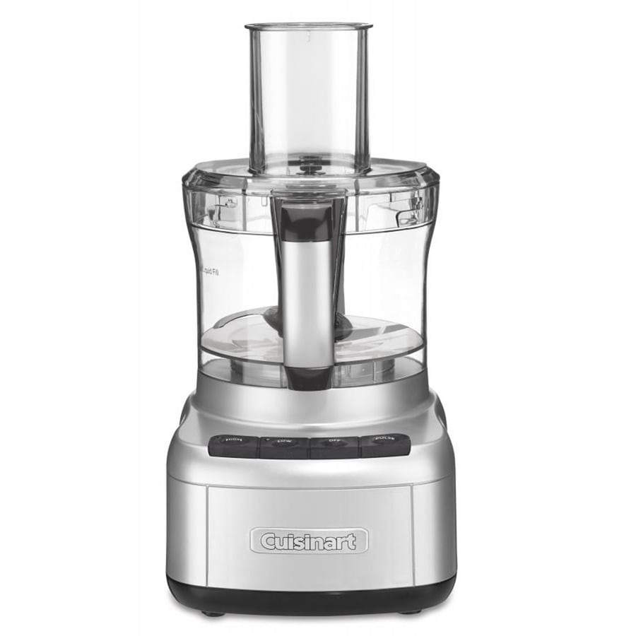 Cuisinart 8-Cup 350-Watt Silver 3-Blade Food Processor