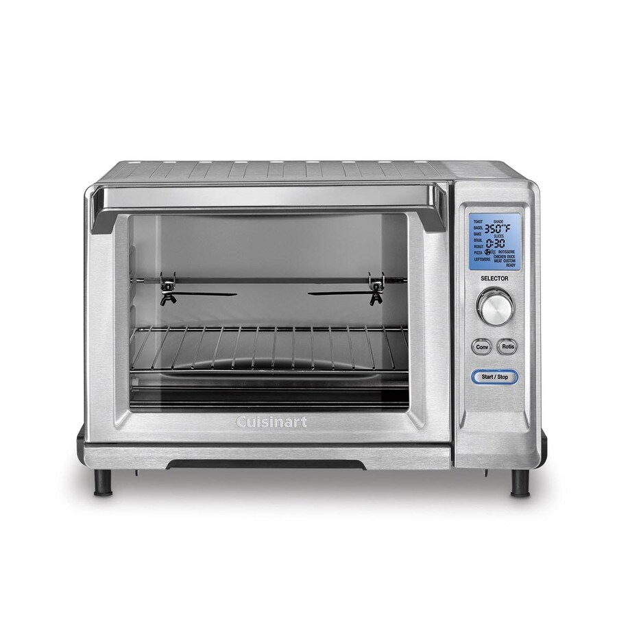 Cuisinart 6-Slice Stainless Steel Convection Toaster Oven with Rotisserie