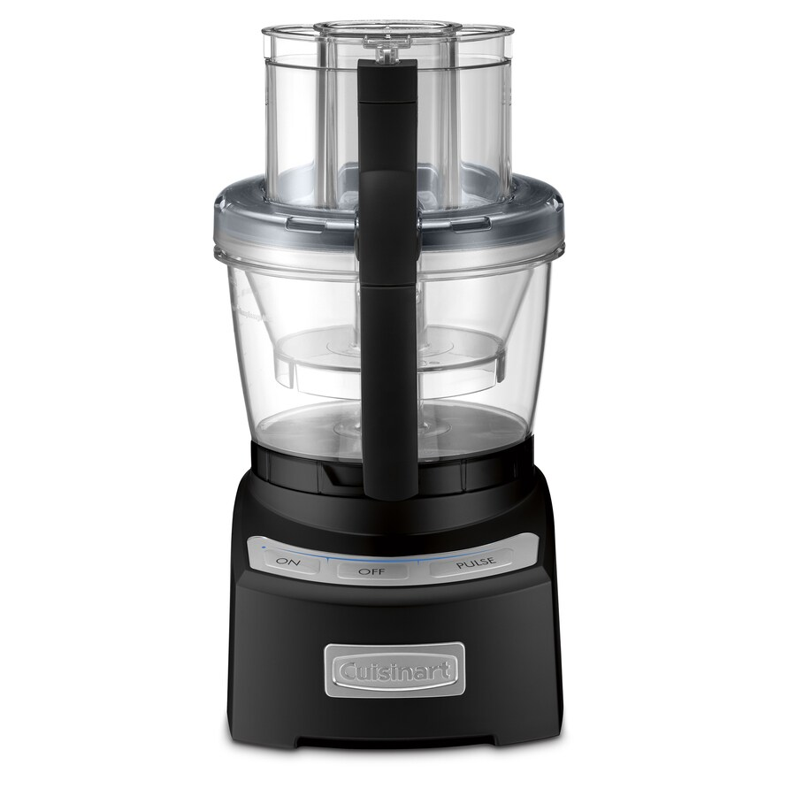 Cuisinart 12-Cup 1,000-Watt Black 5-Blade Food Processor