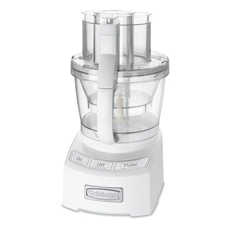Cuisinart 12-Cup 1000-Watt White 5-Blade Food Processor