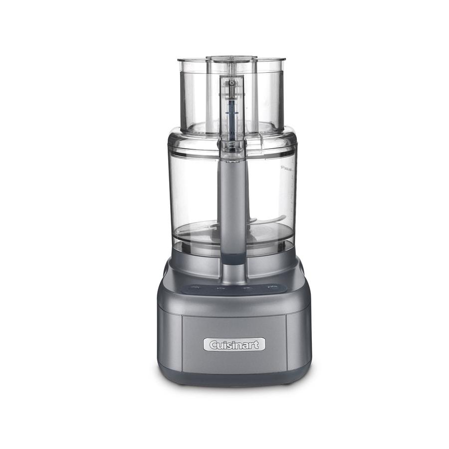 Cuisinart 11-Cup 550-Watt Gunmetal 3-Blade Food Processor