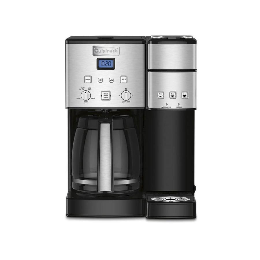 Shop Cuisinart 12-Cup Stainless Steel Programmable Coffee Maker at Lowes.com