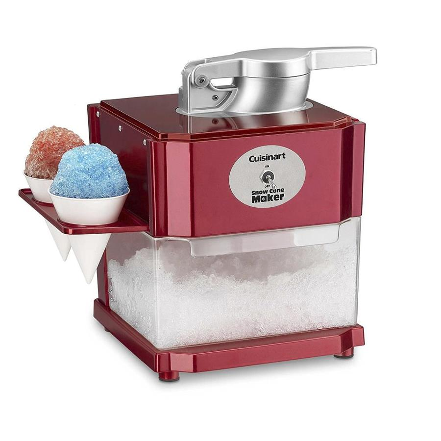 Waring Metallic Red Snow Cone Maker » Gadget Flow |Red Snow Cone