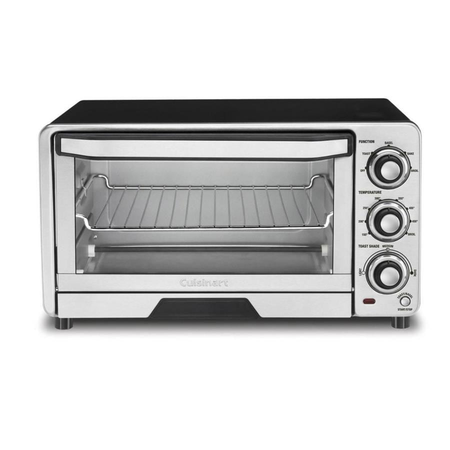 Cuisinart 6-Slice Stainless Steel Toaster Oven with Auto Shut-Off