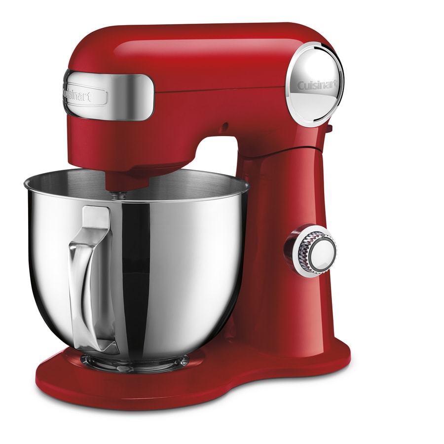 Shop Cuisinart 5 5 Quart 12 Speed Red Countertop Stand Mixer At