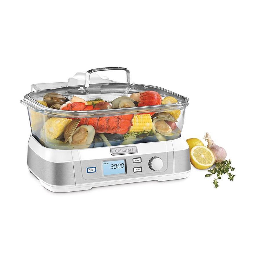 Cuisinart Vegetable Steamer ~ Shop cuisinart quart programmable food steamer at