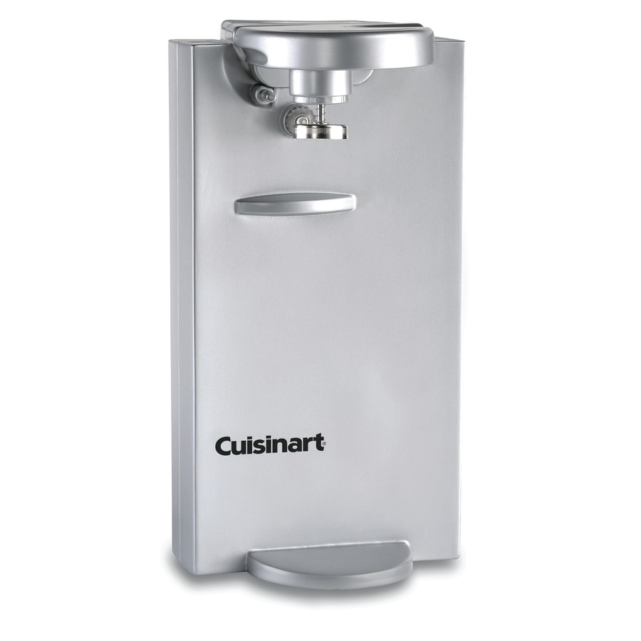 Cuisinart Stainless Steel Electric Can Opener At Lowescom