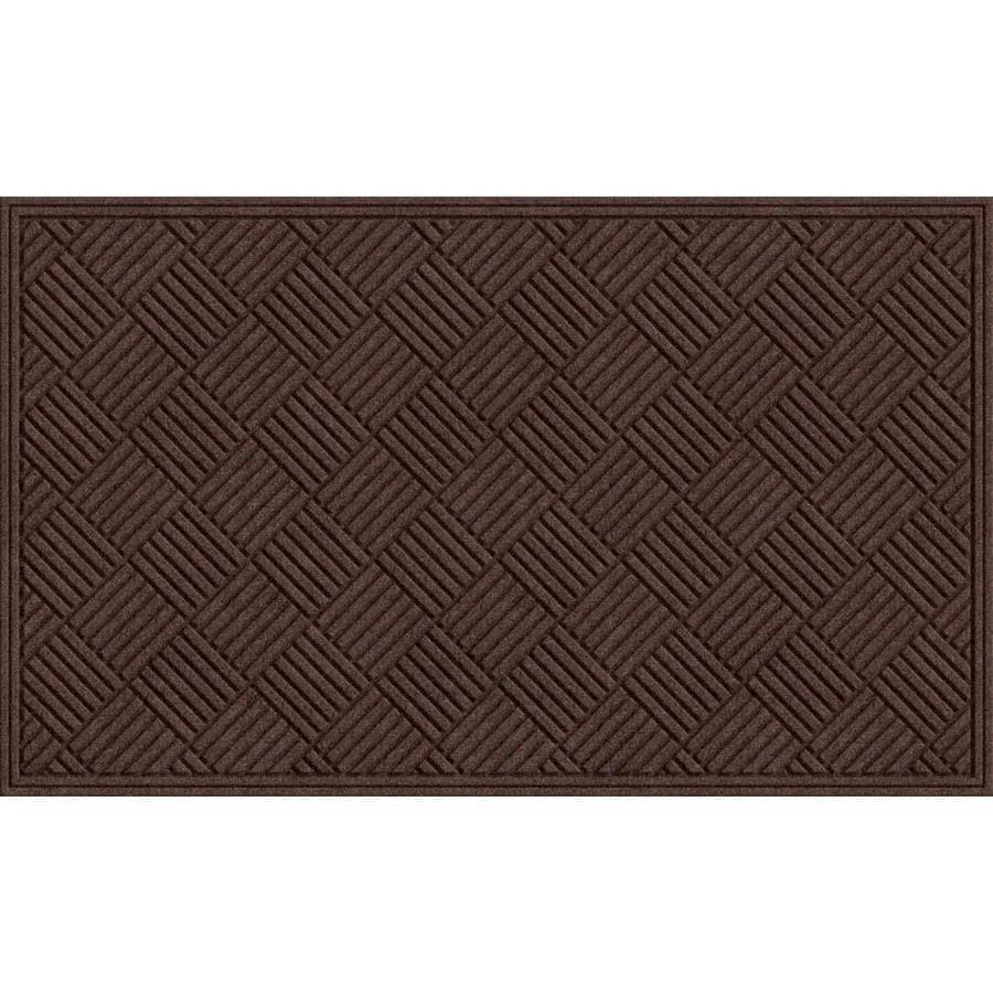 Blue Hawk Rectangular Door Mat (Actual: 36-in x 60-in)
