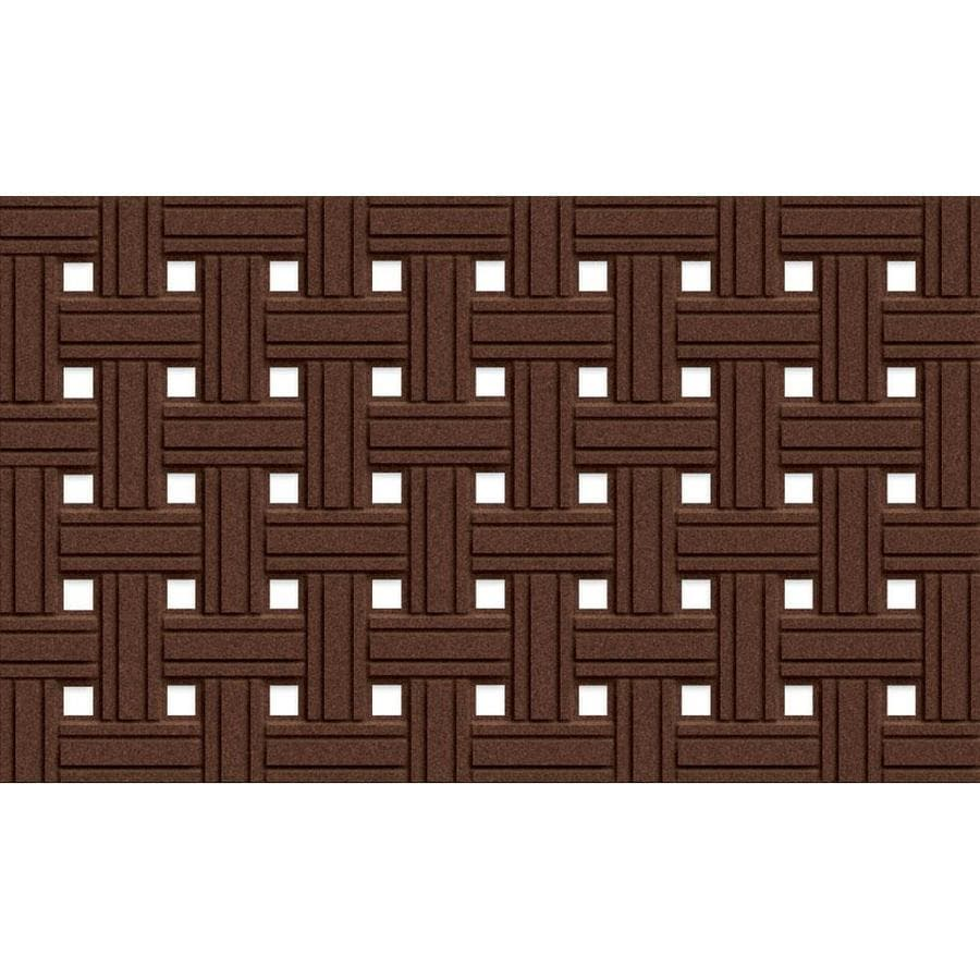 Apache Mills, Inc. Rectangular Door Mat (Common: 18-in x 30-in; Actual: 18-in x 30-in)