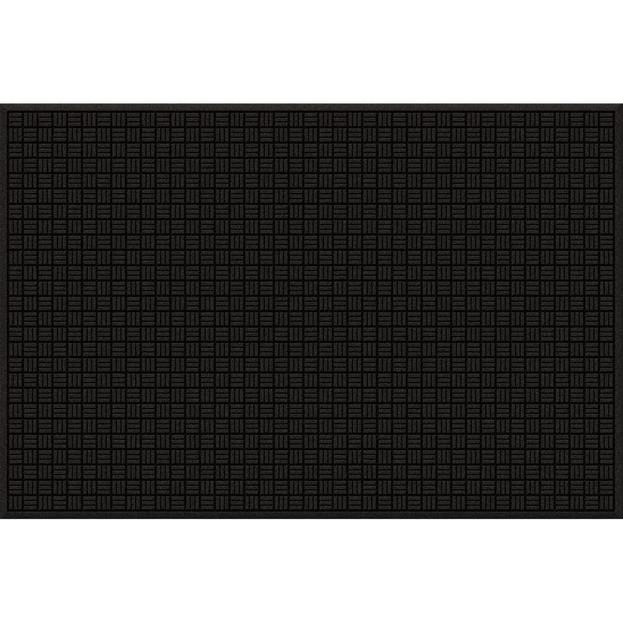 Blue Hawk Rectangular Door Mat (Actual: 48-in x 72-in)