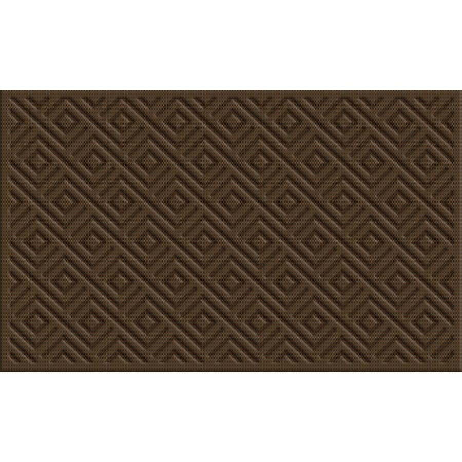 Style Selections Rectangular Door Mat (Actual: 18-in x 30-in)