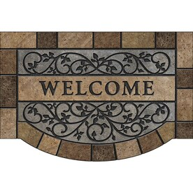Recycled Rubber Door Mat Mats At Lowes