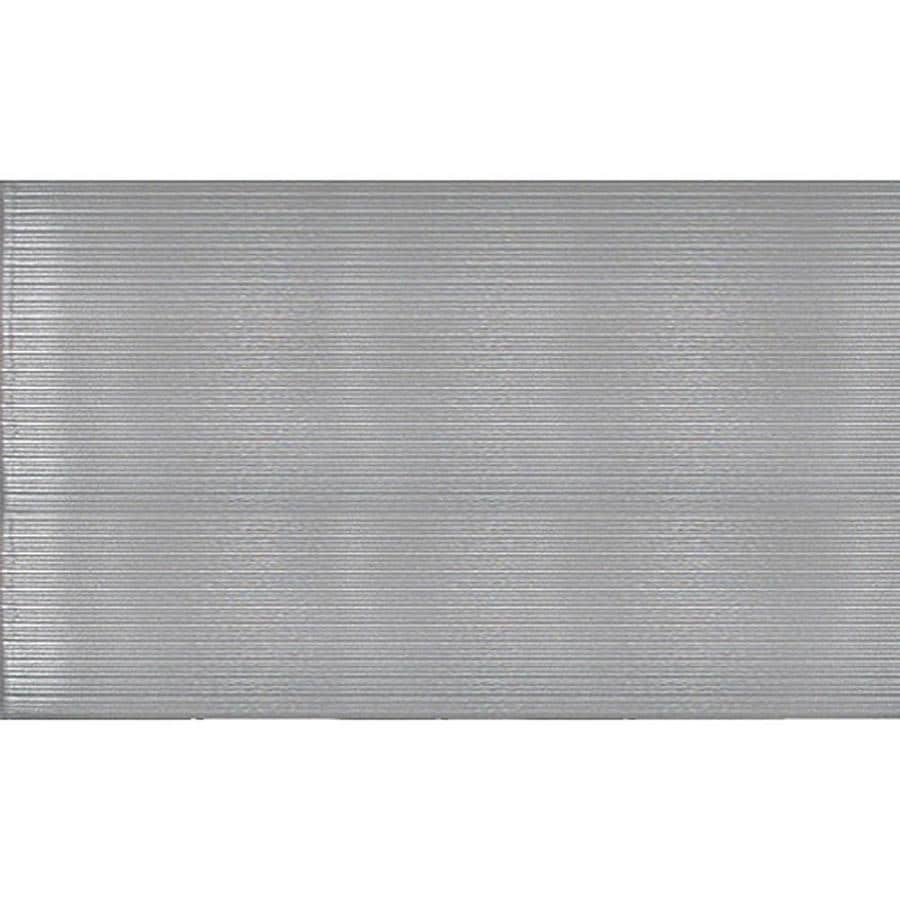 Apache Mills, Inc. Anti-fatigue runner 36-in W Cut-to-Length Gray Cast Vinyl Utility Runner (By-the-Foot)
