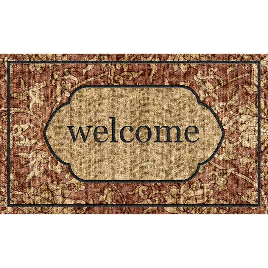 Style Selections Multicolor Rectangular Door Mat (Common: 18-in x 30-in; Actual: 18-in x 30-in)