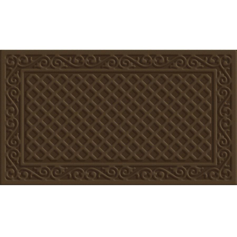 Style Selections Rectangular Door Mat (Actual: 18-in x 30-in)