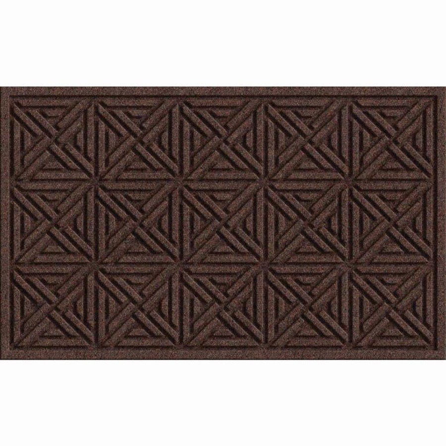 Apache Mills, Inc. Rectangular Door Mat (Actual: 18-in x 30-in)