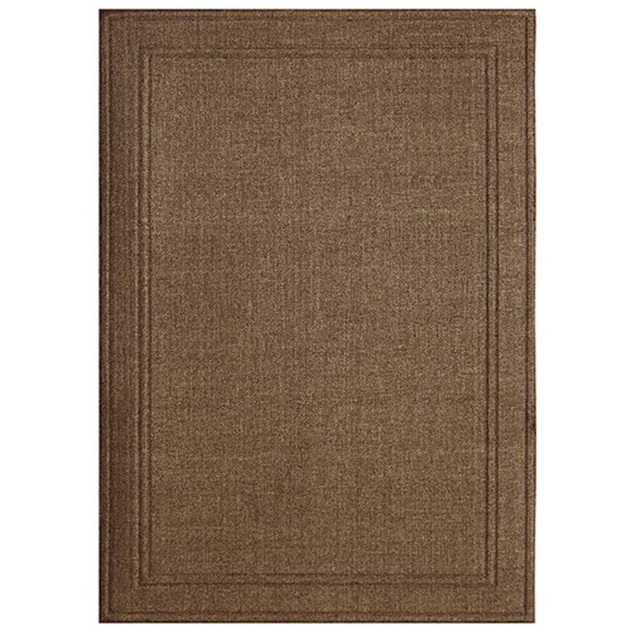 Apache Mills, Inc. Lexington Espresso Weave Rectangular Indoor/Outdoor Woven Area Rug (Common: 5 x 7; Actual: 5-ft W x 7-ft L)