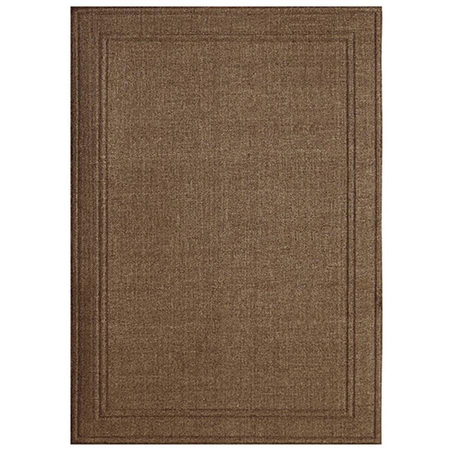 Apache Mills, Inc. Lexington Espresso Weave Rectangular Indoor and Outdoor Woven Area Rug